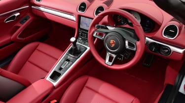 New Porsche 718 Boxster 2016 - interior 2