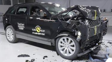 Range Rover Velar Euro NCAP front impact
