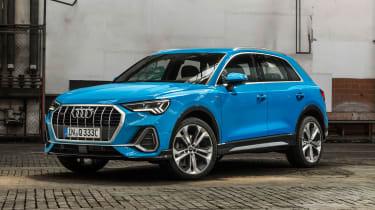 Audi Q3 - front blue