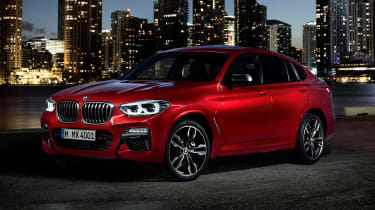 BMW X4 - front static night