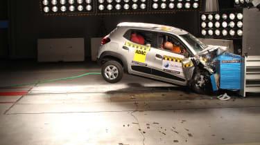 Renault KWID II crash test