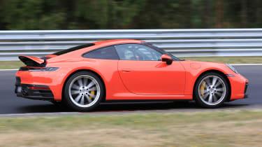 New Porsche 911 spoiler