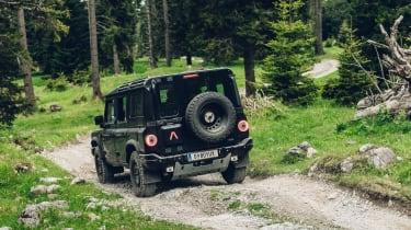Ineos Grenadier prototype  rear