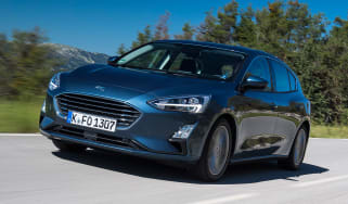 Ford Focus diesel Titanium - front