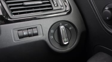 Used Skoda Rapid Spaceback - light controls