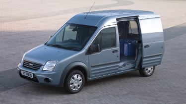 Ford Transit Connect left side door open