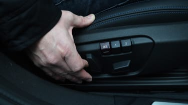 BMW 118i M Sport long termer - second report electric seats