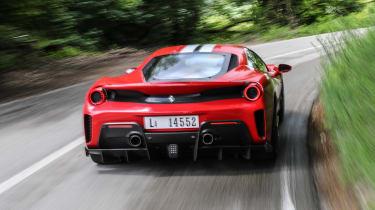 Ferrari 488 Pista - full rear