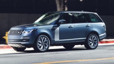 New Range Rover PHEV 2017 review - front action
