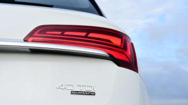 Audi Q5 40 TDI - rear lights