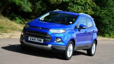 Ford EcoSport tracking
