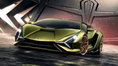 Lamborghini Sian - full front