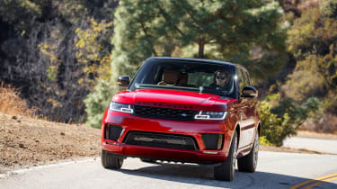 Range Rover Sport PHEV - full front
