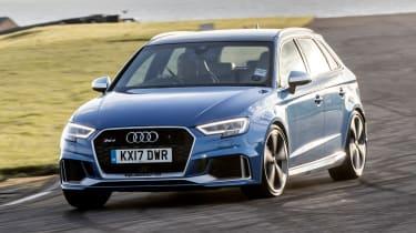 Audi RS3 long-term test review - front