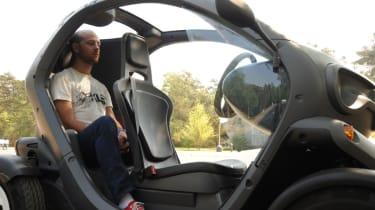 Renault Twizy rear seats