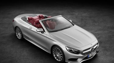 Mercedes S-Class Cabriolet 2