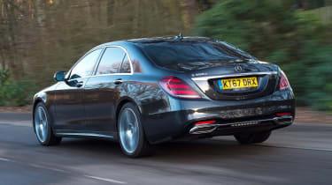 Mercedes S-Class - rear