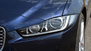 Jaguar XE AWD - front light detail