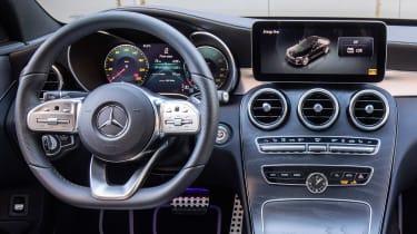 Mercedes C 300 de - interior