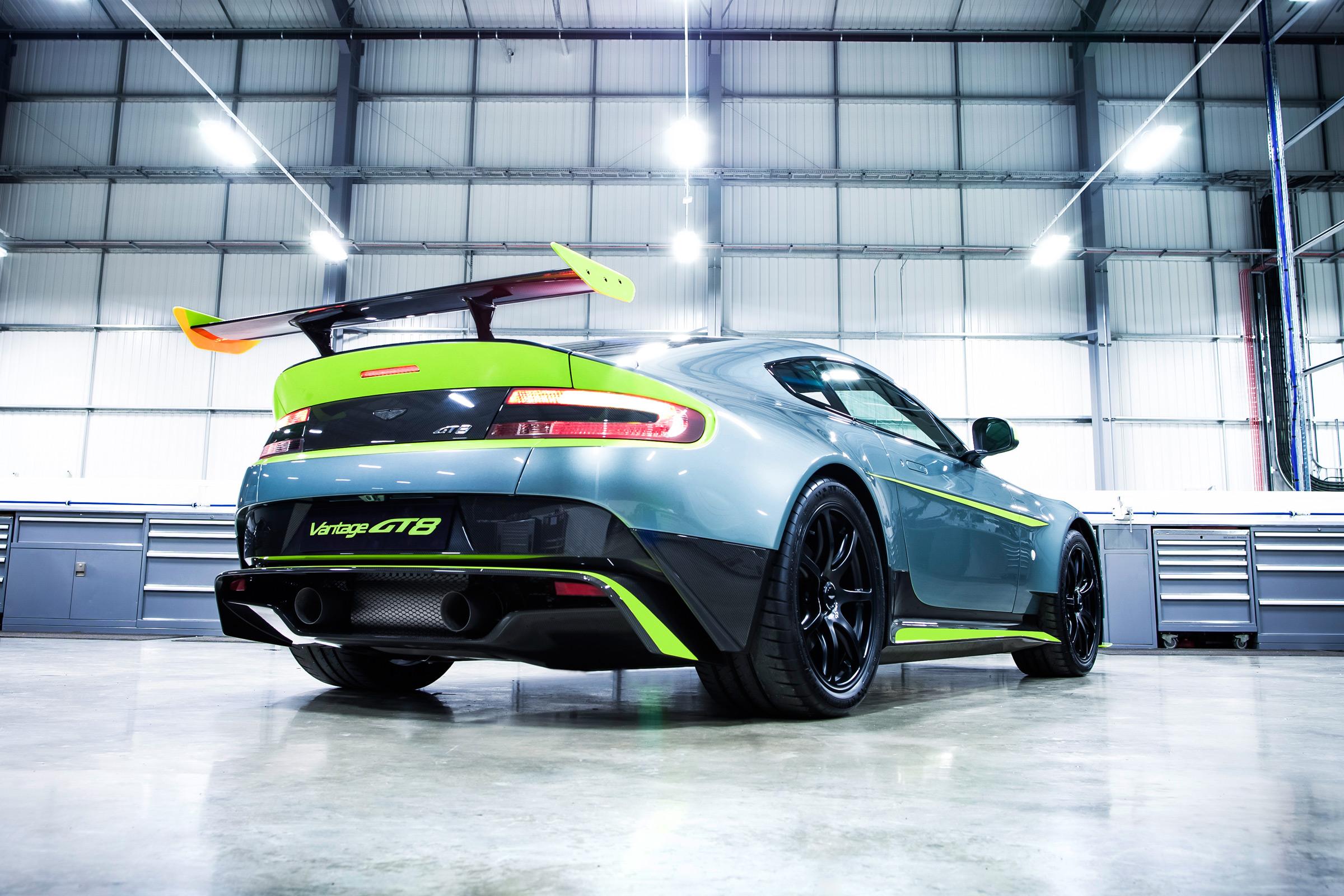 Aston Martin Vantage Gt8 Details On All New 165k Track Car Auto Express