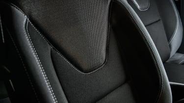 Renault Clio Urban Nav - seat detail