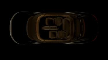 Audi Grand Sphere concept - above teaser