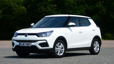 Used SsangYong Tivoli - front static