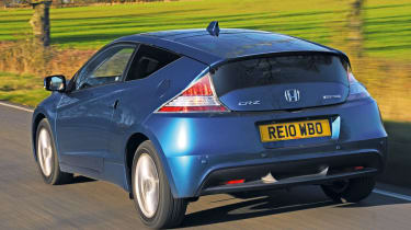 Honda CR-Z rear tracking