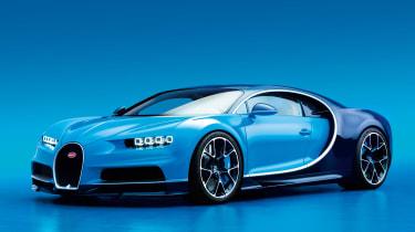 Bugatti Chiron - front/side