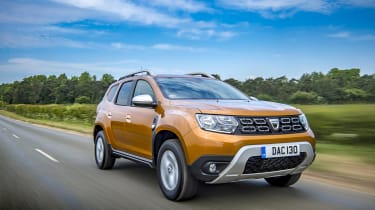 Dacia Duster 130 driving