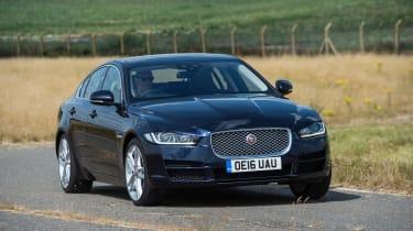 Jaguar XE AWD - front action