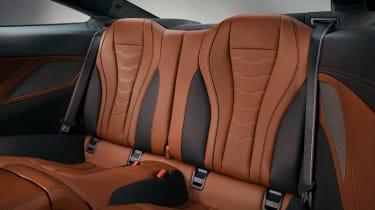 BMW 8 Series - rear seats