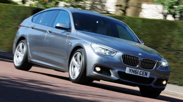 BMW 5 Series GT front