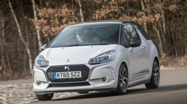 Used DS 3 - front cornering