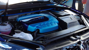 Volkswagen Golf GTI First Decade Worthersee reveal engine
