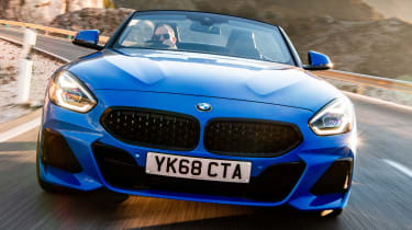 BMW Z4 - head-on tracking