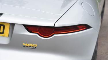 Jaguar F-Type 400 Sport - taillight