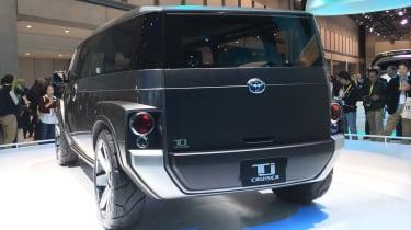 Toyota Tj Cruiser concept - Tokyo rear static