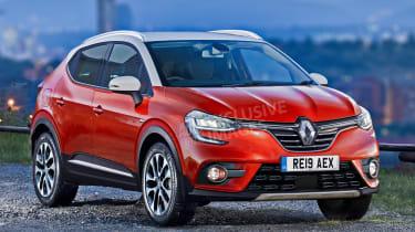 Renault Captur - front (watermarked)