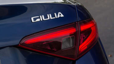 Alfa Romeo Giulia - rear light detail