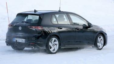 Volkswagen Golf GTI 2020 - spies - rear 3/4 tracking
