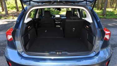 Ford Focus diesel Titanium - boot
