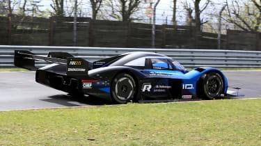 Volkswagen ID. R - Nurburgring rear cornering