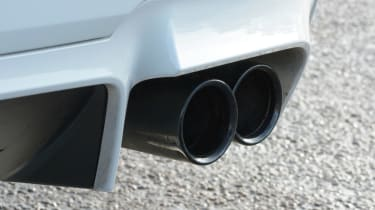 BMW M5 Competition Pack pipes