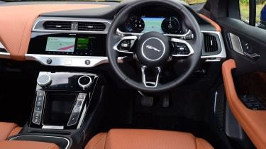 Jaguar I-Pace dashboard