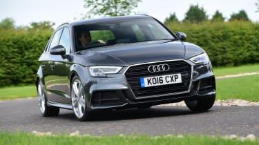 Audi A3 Sportback 2.0 TDI - front cornering