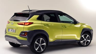 Hyundai Kona studio - rear