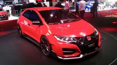 Honda Civic Type R at Geneva