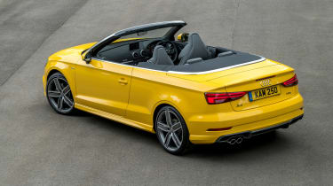 Audi A3 Cabriolet - rear static