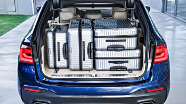 New BMW 5 Series Touring - boot full